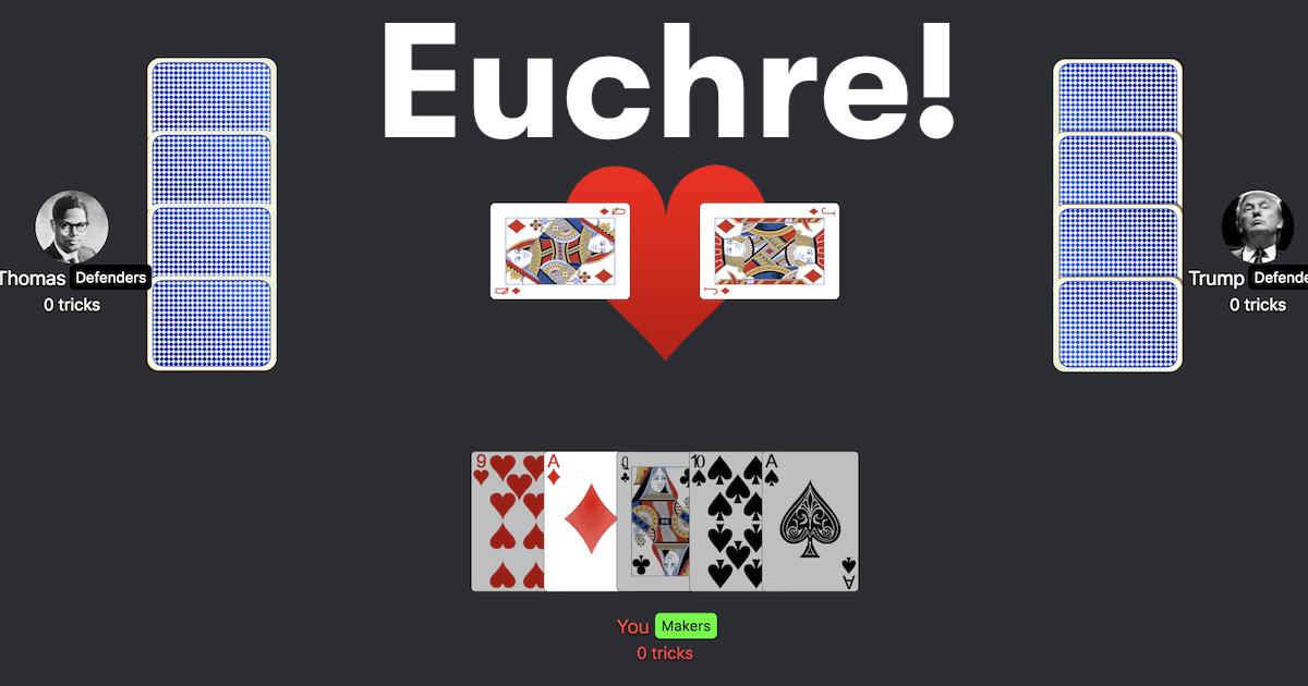 Euchre Play Online Free